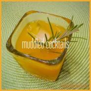 muddled cocktails